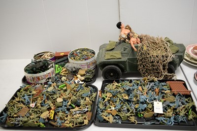 Lot 274 - Vintage Action Man and other toys.