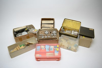 Lot 340 - A quantity of watch parts.