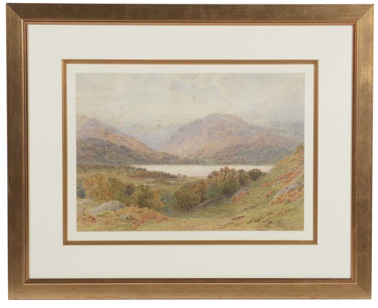 Lot 317 - Alfred Powell - watercolour.