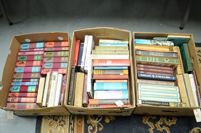 Lot 470 - Three boxes of miscellaneous books.
