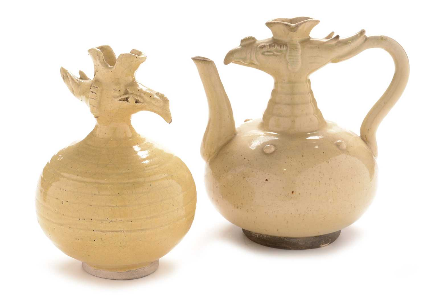 Lot 415 - Two Chinese wine pots
