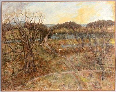 Lot 993 - Austin Taylor - Oil on canvas