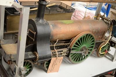 Lot 850 - Simkin 5in. gauge Stirling Single GNR loco and tender.