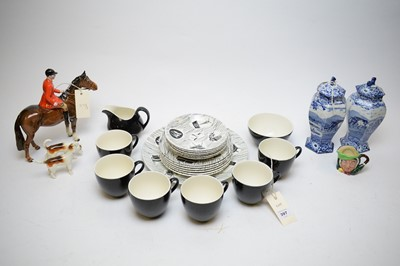 Lot 397 - Miscellaneous ceramics by Beswick and other makers.