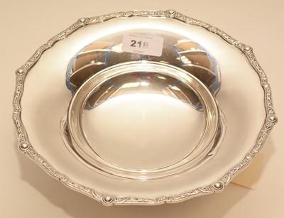 Lot 218 - A silver bowl by Addie Bros
