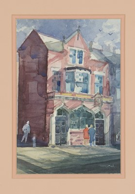Lot 237 - Tom Dack - watercolours.