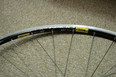 Lot 723 - A pair of road bike wheels.