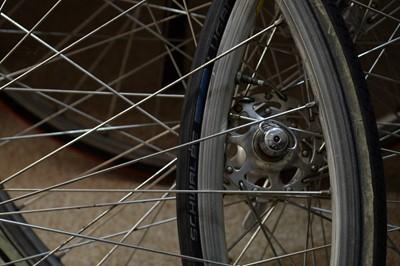 Lot 724 - Sundry road bike wheels.