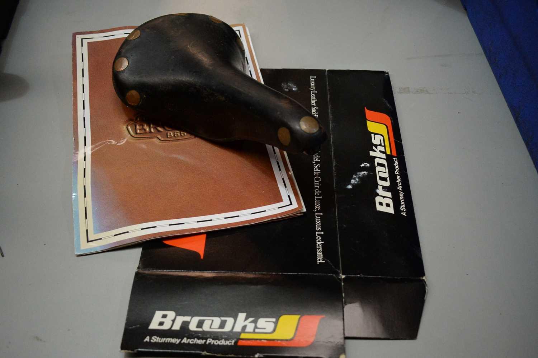Lot 730 - A Brooks professional saddle.