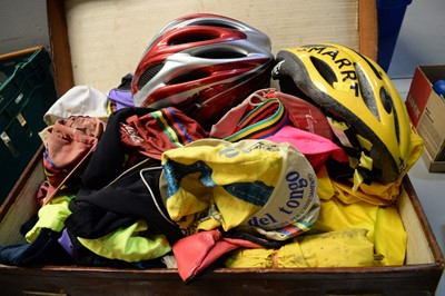 Lot 732 - Cycle jerseys and other cycling clothing.