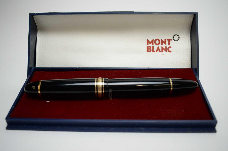 Lot 748 - A Montblanc 4810 Meisterstuck fountain pen.