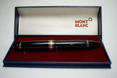 Lot 748 - A Montblanc 4810 Meisterstuck fountain pen.