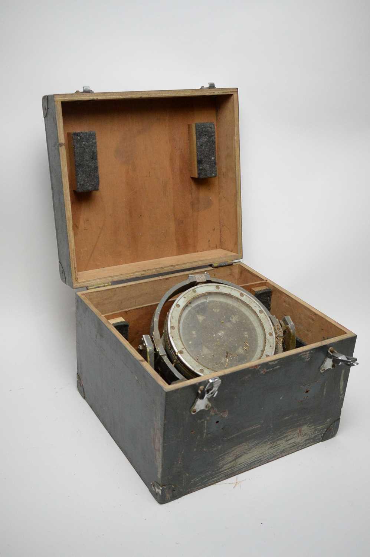Lot 763 - A ship's compass.