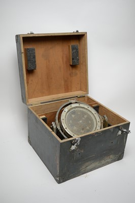 Lot 763 - A ship's compass.