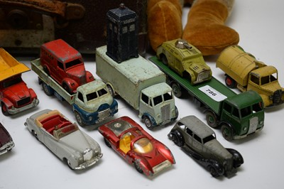 Lot 786 - A selection of Dinky toy vehicles and other toys.