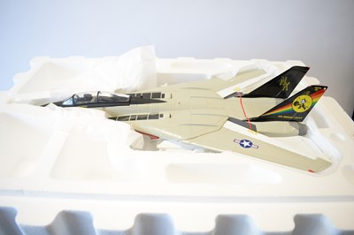 Lot 800 - Collection Armour 1:48 Scale metal diecast aeroplanes - F14 Tomcat.