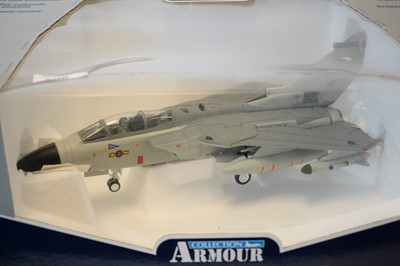 Lot 806 - Collection Armour 1:48 Scale metal diecast aeroplanes - Tornado
