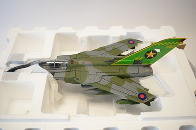 Lot 807 - Collection Armour 1:48 Scale metal diecast aeroplanes - Tornado.