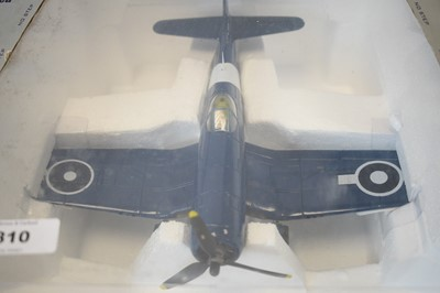 Lot 810 - Collection Armour 1:48 Scale metal diecast aeroplanes - F4U Corsair.
