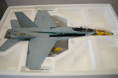 Lot 797 - Collection Armour 1:48 Scale metal diecast aeroplanes - F18 Hornet.