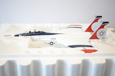 Lot 792 - Collection Armour 1:48 Scale metal diecast aeroplanes - F15 Eagle.