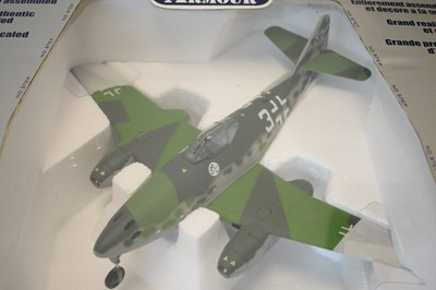 Lot 828 - Collection Armour 1:48 Scale metal diecast aeroplanes - Messerschmitt 262.
