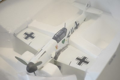 Lot 832 - Collection Armour 1:48 Scale metal diecast aeroplanes - Bf109 Messerschmitt.