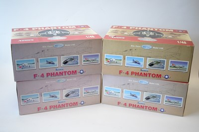 Lot 803 - Collection Armour 1:48 Scale metal diecast aeroplanes - F4 Phantom.