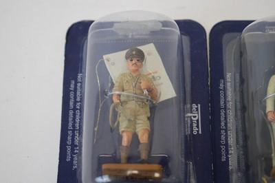 Lot 844 - Del Prado 54mm military model figures.