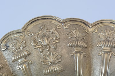 Lot 164 - A pair of William IV silver gilt wall charges.