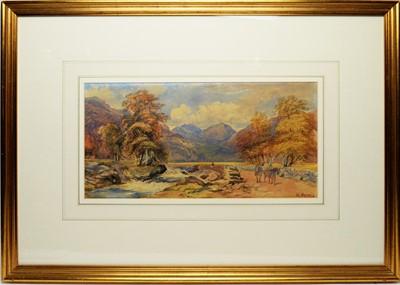 Lot 295 - W* Hindall - watercolour