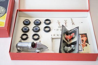 Lot 843 - Schuco-Studio racing car construction sets.