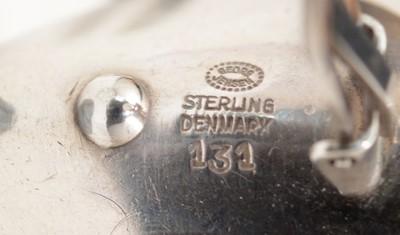 Lot 751 - Nanna Ditzel for Georg Jensen, earrings