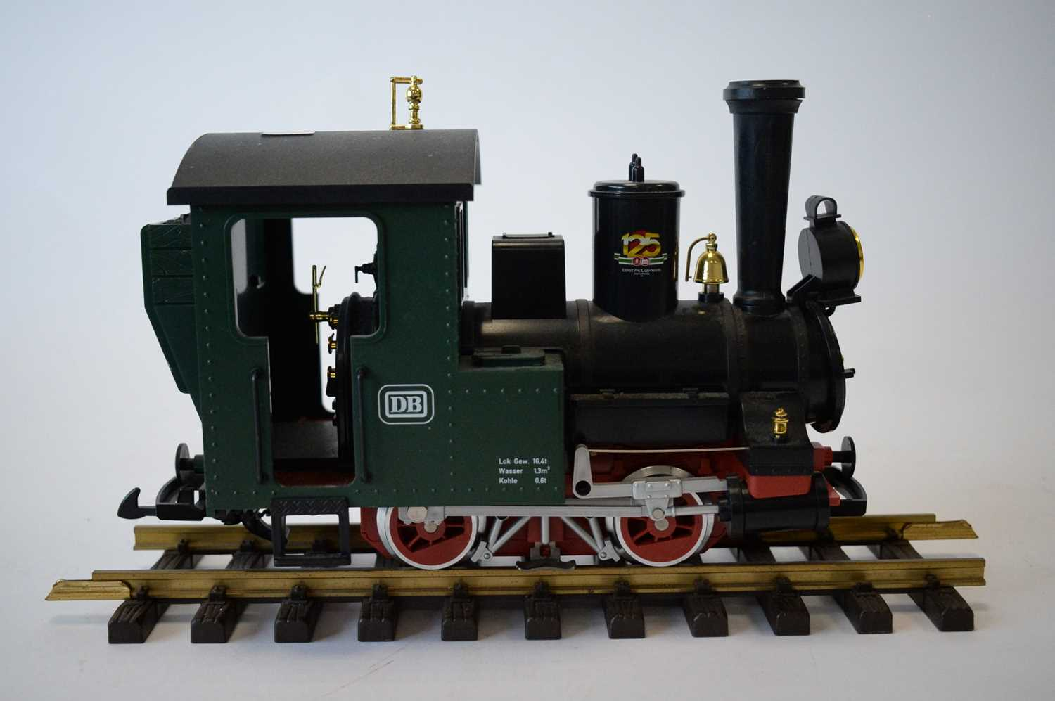 Lot 848 - A Lehmann G-scale Continental Narrow Gauge locomotive.