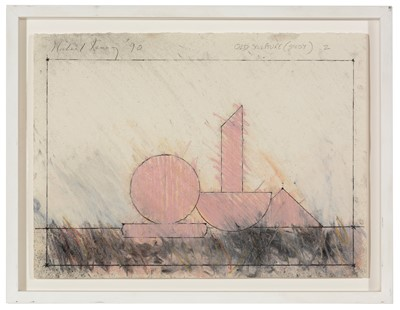 Lot 956 - Michael Kenny - Charcoal and pastel