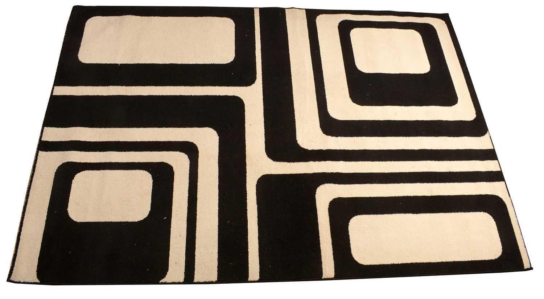Lot 781 - A Belgian polypropylene geometric rug