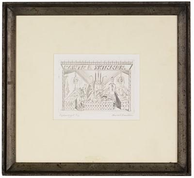 Lot 900 - Edward Bawden - engraving