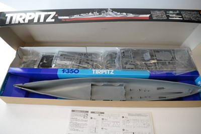 Lot 855 - Tamiya 1:350 scale plastic construction kit.