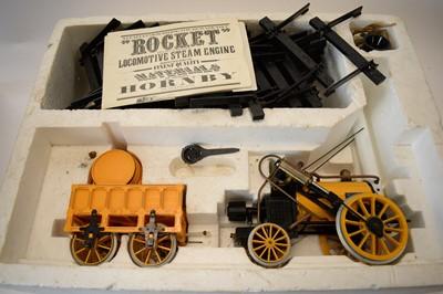 Lot 849 - A Hornby Railway 3 1/2in. gauge live-steam train set.