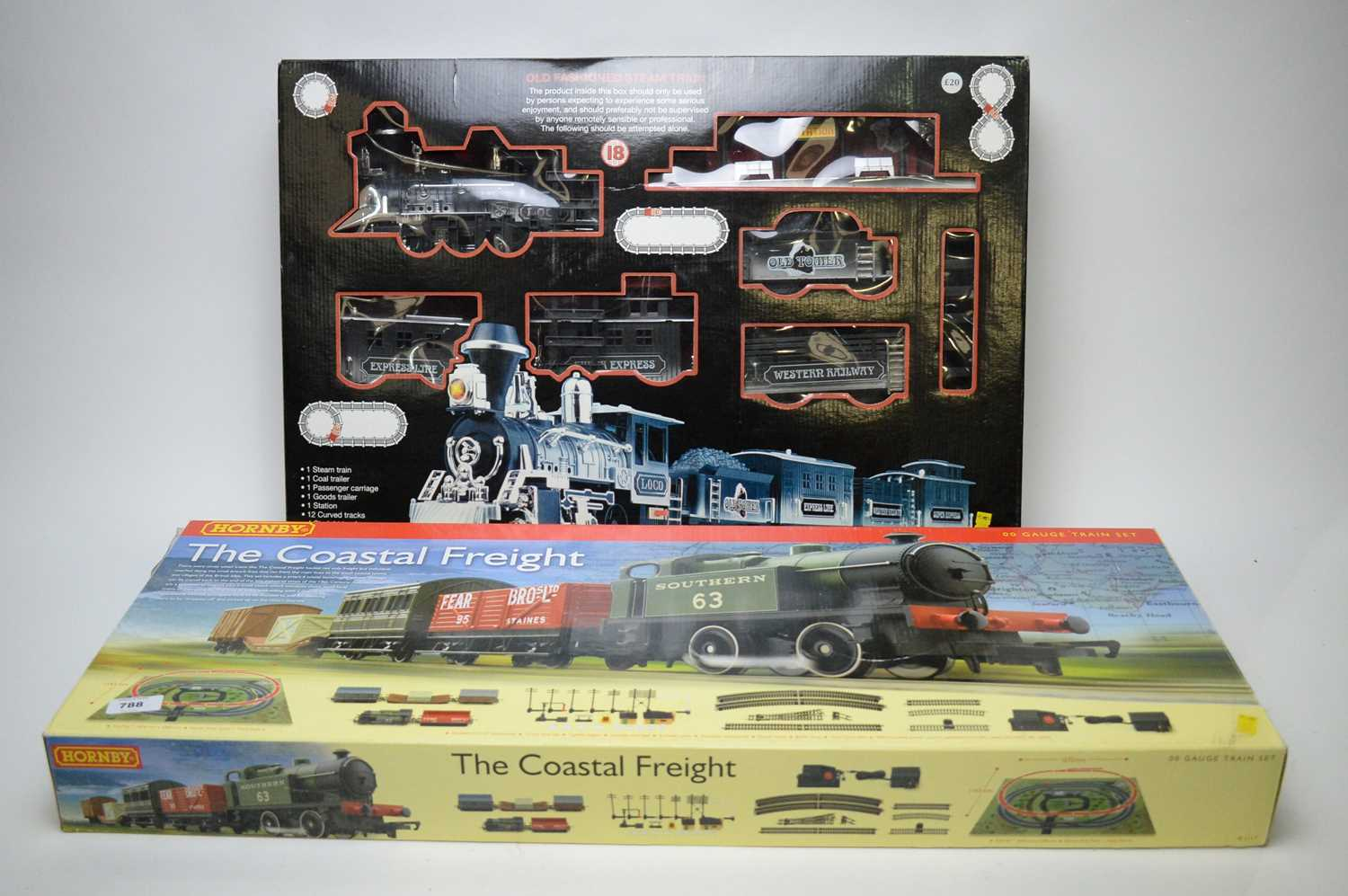 Lot 788 - Two train sets Hornby and BHS.