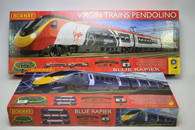 Lot 789 - Two Hornby train sets.