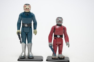 Lot 942 - Two Star Wars Snaggletooth variants
