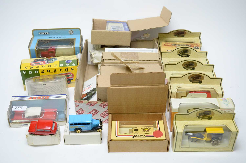 Lot 880 - Diecast model vehicles.
