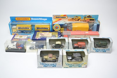 Lot 881 - Diecast model vehicles.