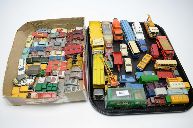 Lot 883 - Matchbox diecast vehicles.