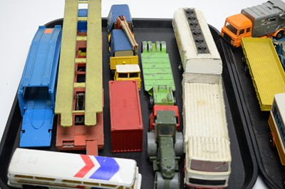 Lot 884 - Corgi and Dinky diecast model vehicles.