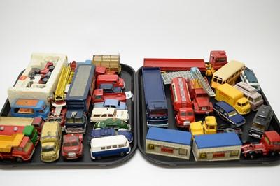 Lot 886 - Diecast model vehicles.