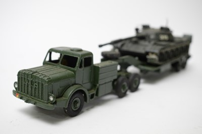 Lot 888 - Military diecast model vehicles.