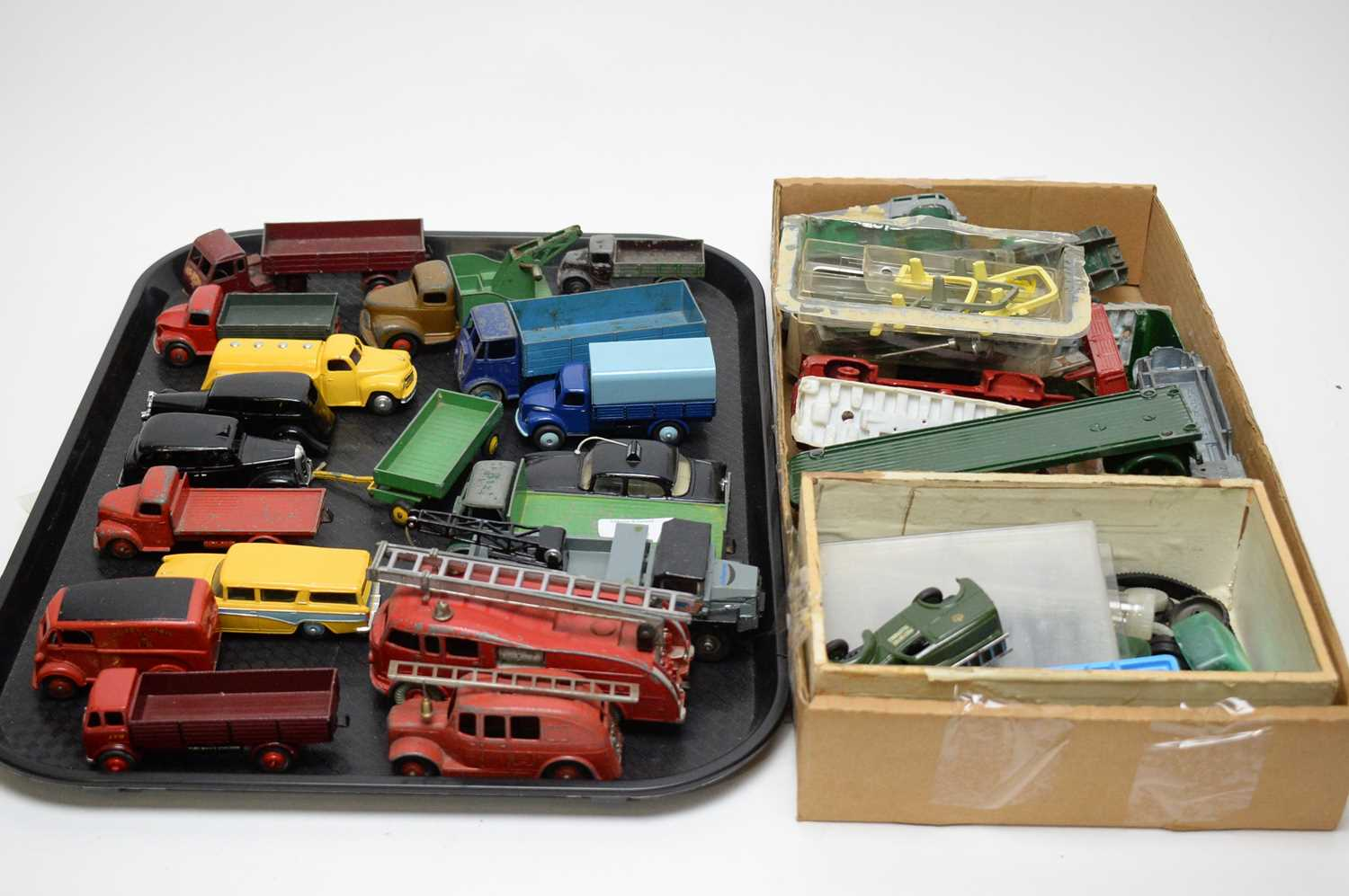 Lot 892 - Diecast models and spare parts.