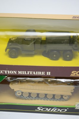 Lot 893 - Military diecast models.